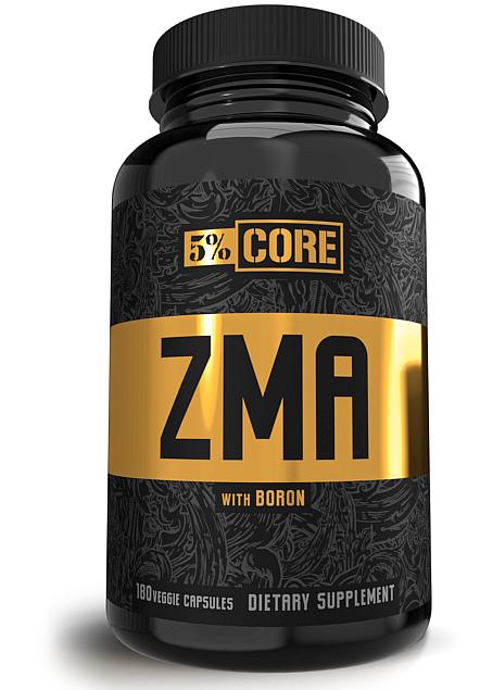 5% Nutrition Core ZMA 180 Caps [0]