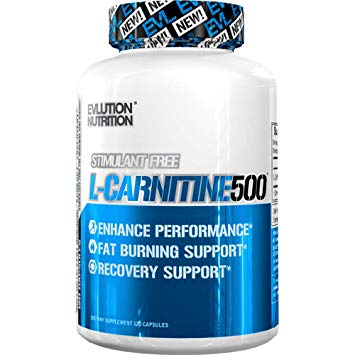 Evlution Nutrition L-Carnitine 500 120 caps 0