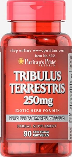 Puritan's Pride Tribulus Terrestris 250 mg 90 caps 0