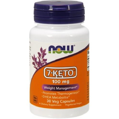 Now 7-Keto 100 mg 30 veg cap 0