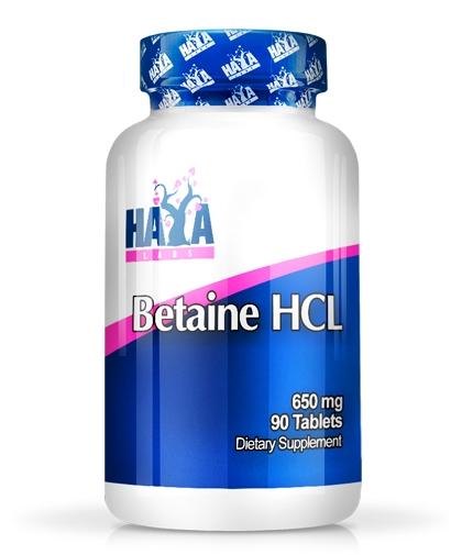 Haya Labs Betaine HCL 650 mg 90 tab [0]