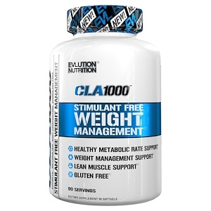 Evlution Nutrition CLA 1000 90 softgels 0