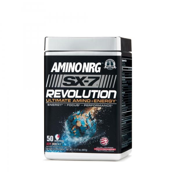 Muscletech SX-7 Amino NRG Revolution 50 serv 0