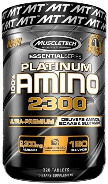 Muscletech Platinum 100% Amino 2300 320 tab [0]