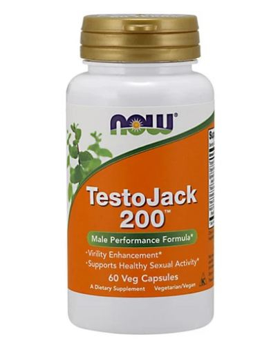 Now TestoJack 200 60 vcaps 0