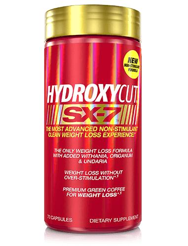 Muscletech Hydroxycut SX-7 Non Stimulant 0