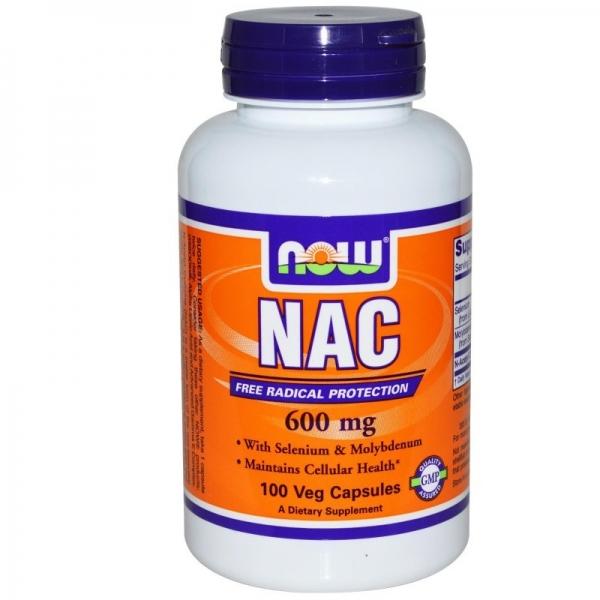 Now NAC 600 mg 100 veg caps [0]