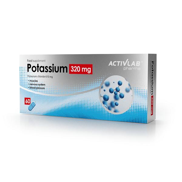 Activlab Pharma Potas 320 mg 60 caps 0