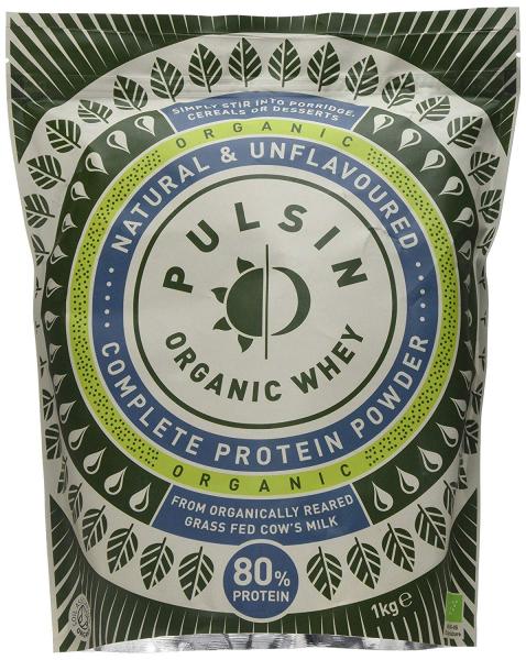 Pulsin Organic Whey Protein Powder 1kg 0