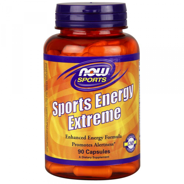 Now Sports Energy Extreme 90 veg caps 0