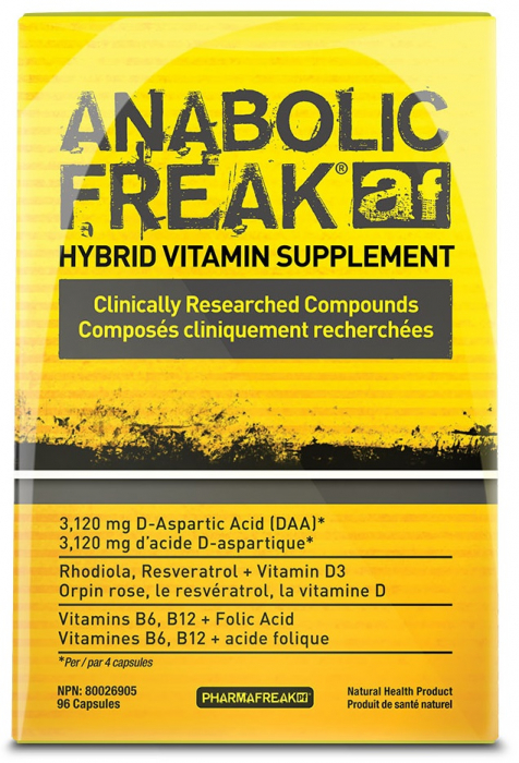 PharmaFreak Anabolic Freak 96 caps 0