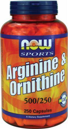 now-arginine-ornithine-250-caps 0