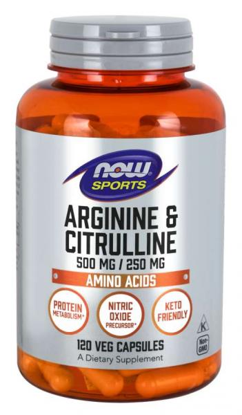 Now Arginine & Citrulline 120 veg caps [0]