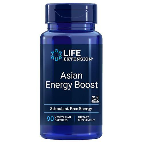 Life Extension Asian Energy Boost 90 veg caps 0