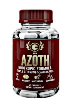 Azoth Nootropic Formula 45 caps 0