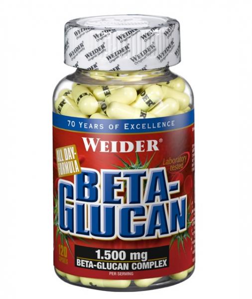 Weider Beta-Glucan 120 caps 0