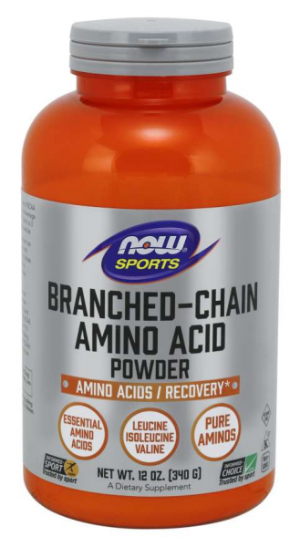 Now Branched-Chain Amino Acid Powder 340 g 0