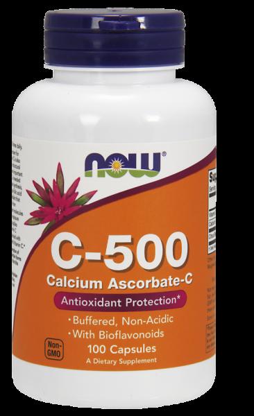 now-c-500-calcium-ascorbate-c-100-caps 0