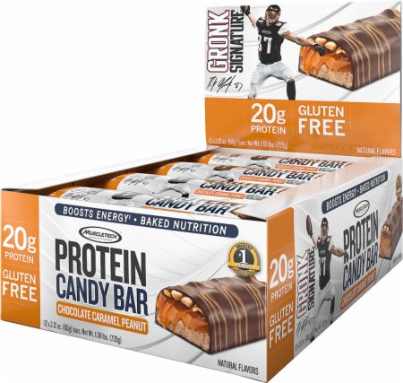 Muscletech Protein Candy Bar 12x60 g 0