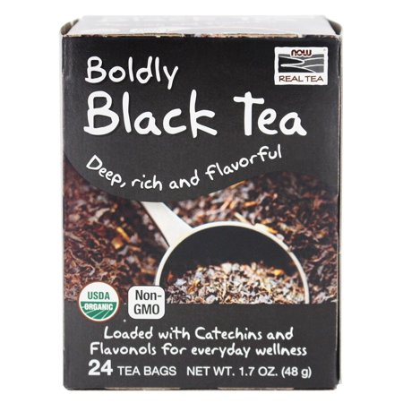 Now Organic Black Tea 24 tea bags 0