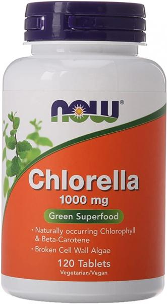 Now Chlorella 1000 mg 120 tab [0]