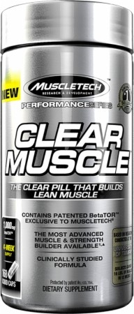 Muscletech Clear Muscle 168 caps 0