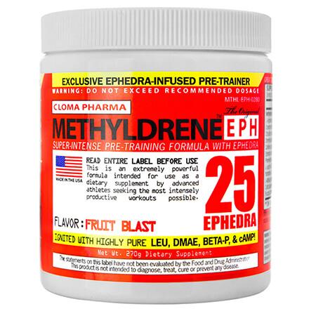 Cloma Pharma Methyldrene EPH 25 0