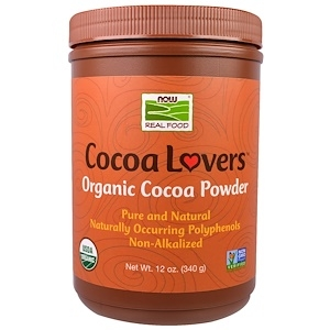 Now Cocoa Powder 340g 0