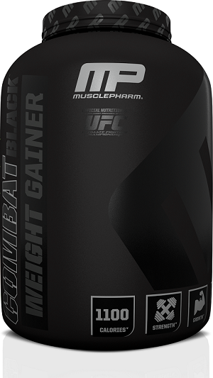 MusclePharm Combat Black Weight Gainer 2.3 kg 0