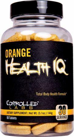 Controlled Labs Orange Health IQ 90 tab 0