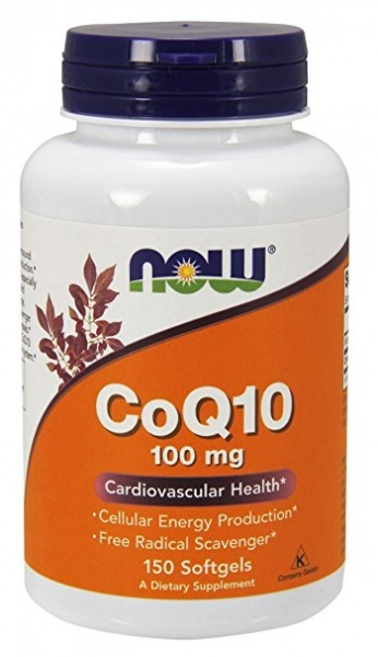 Now CoQ10 100mg 150 softges 0