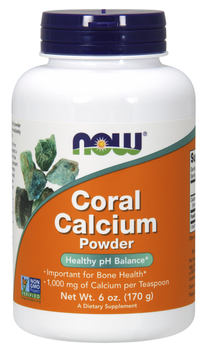Now Coral Calcium Powder 170 g 0
