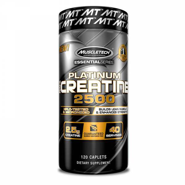 Muscletech Platinum 100% Creatine 2500 120 caps 0