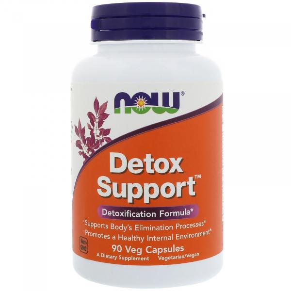 Now Detox Support 90 veg caps 0