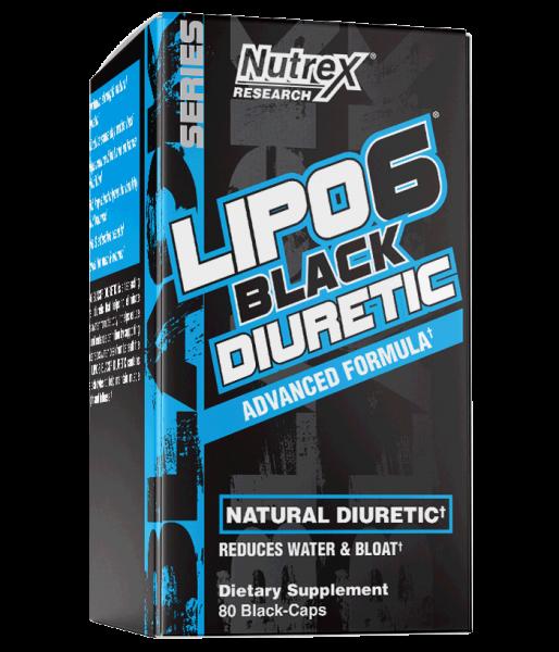 Nutrex Lipo 6 Black Diuretic 80 caps [0]