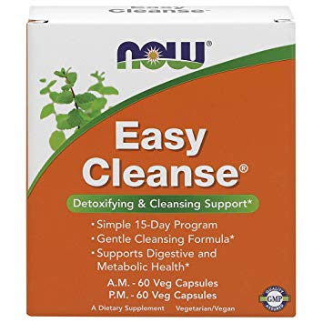 Now Easy Cleanse 60+60 vcaps 0