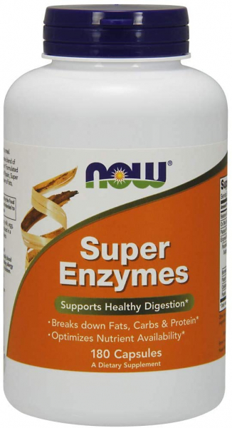 Now Super Enzymes 180 caps 0