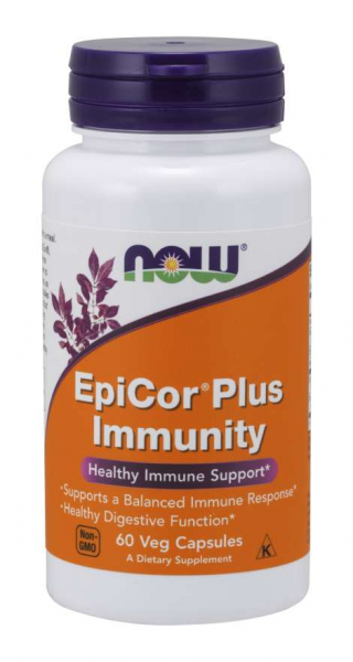 Now EpiCor Plus immunity 60 veg caps 0