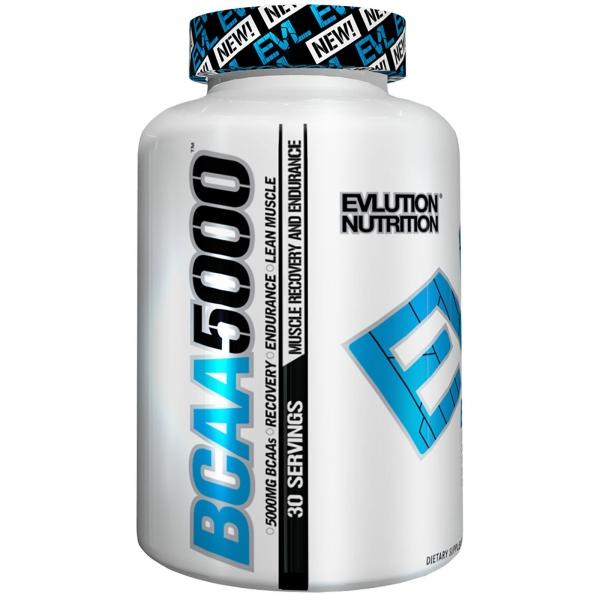 Evlution Nutrition Bcaa 5000 240 caps (30 serv)