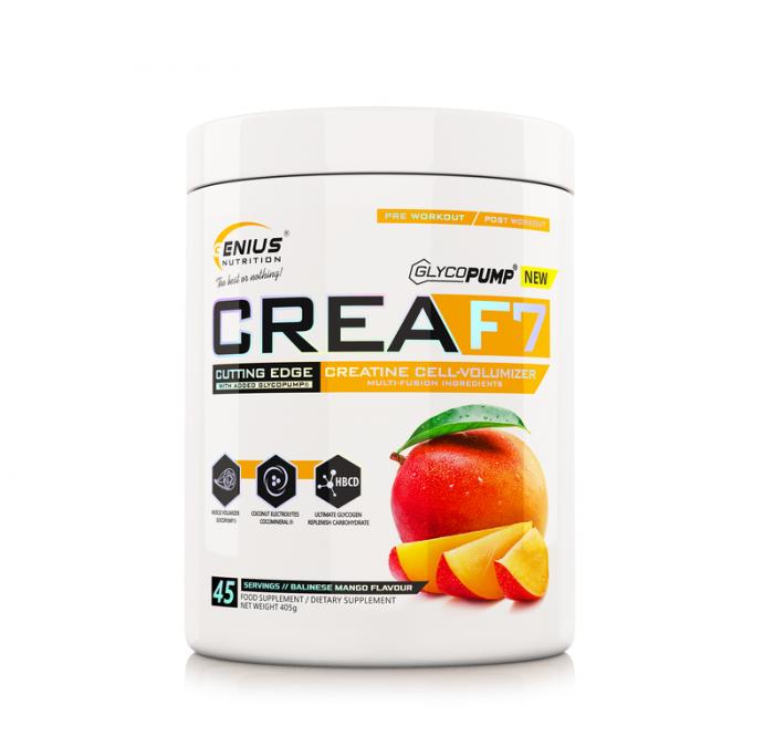Genius Nutrition CreaF7 45 serving [0]