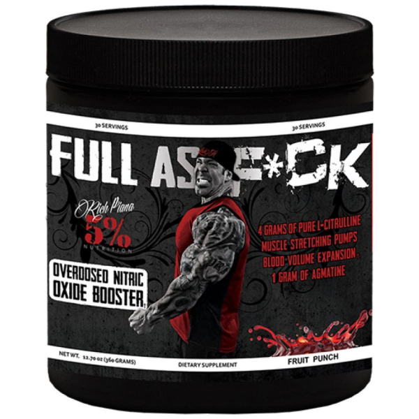 Rich Piana 5% Nutrition Full as F*ck Agmatine Version 0