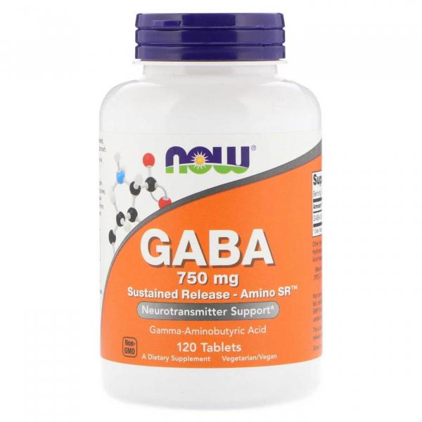 Now Gaba 750 mg 120 tab [0]