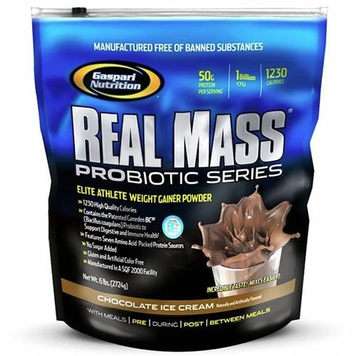 Gaspari Real Mass Probiotic Series 2.7 kg 0