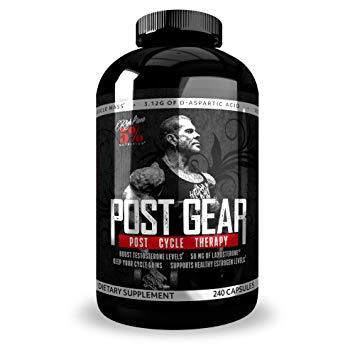 Rich Piana 5% nutrition Post Gear 240 caps 0