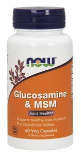 Now Glucosamine + MSM 60 veg caps 0