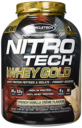Muscletech Nitro Tech 100% Whey Gold 2.5 kg 0