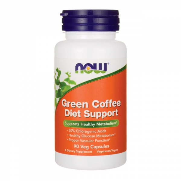Now Green Coffee Diet Support 90 veg caps 0