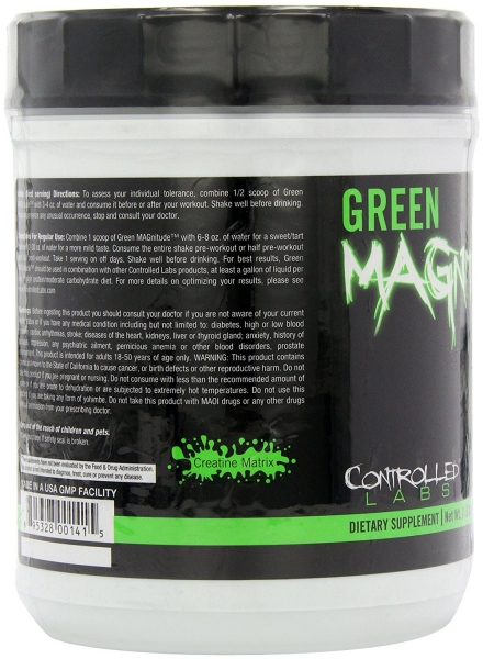 Controlled Labs Green Magnitude 10 serviri 0