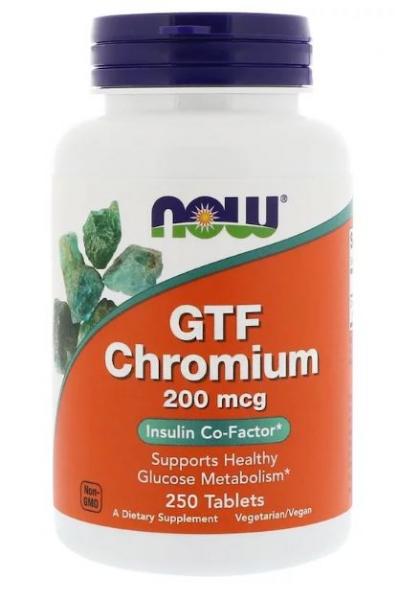Now GTF Chromium 200 mcg 250 tab [0]
