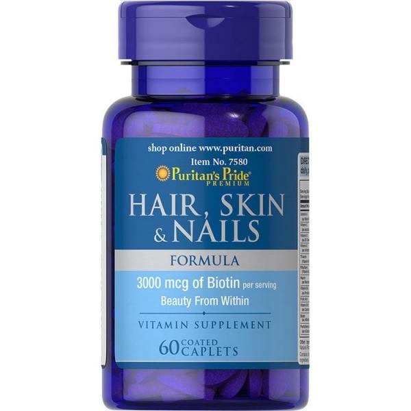 Puritan`s Pride Hair Skin & Nails 30 softgel 0